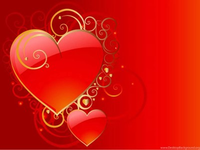 Love Hearts Pair HD Desktop Wallpapers Desktop Background