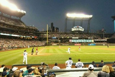 Interfacelift Fall Wallpaper Safeco Field Section 223 Home Of Seattle Mariners