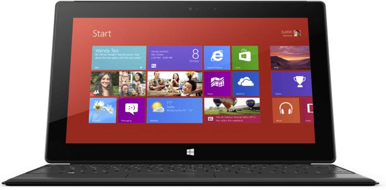 Surface Microsoft