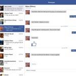 Inbox de Facebook en Windows 8.1