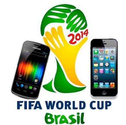 Aplicaciones del Mundial de Brasil