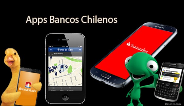 Apps bancos Chile