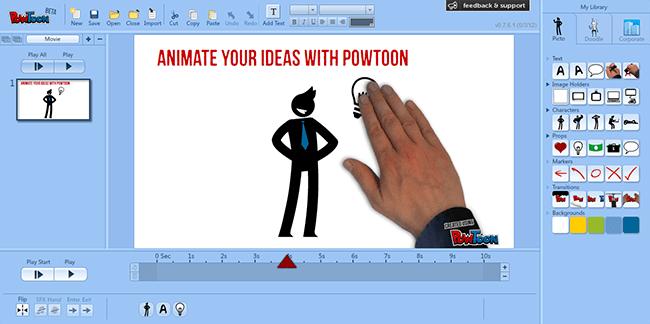 PowToon, herramienta para hacer presentaciones