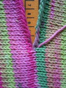 Perfect Knit Seam Tutorial