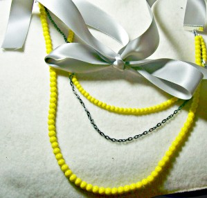 How to Make a Tiered Necklace {DIY}