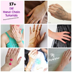 DIY Hand Chain Tutorials {roundup} – UPDATED