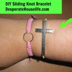 Cross Sliding Knot Bracelet