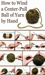 Another Great Technique on How to Make a Center Pull Ball of Yarn