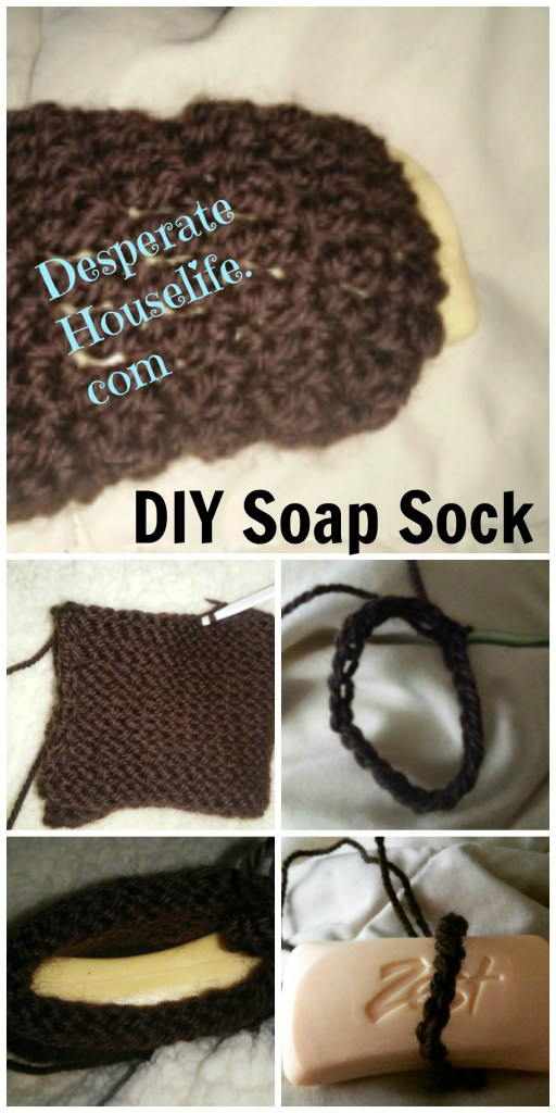 DIY Soap Sock {Crochet Pattern / Knitting Pattern}