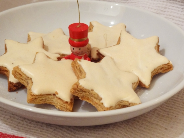 Recette des toiles de no l la cannelle dessert rapide - Recette de noel dessert ...