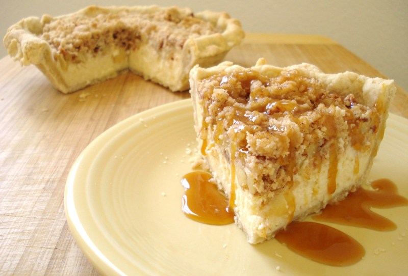 Large Of Apple Pie Cheesecake