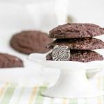 Jumbo Chocolate Mint Cookies