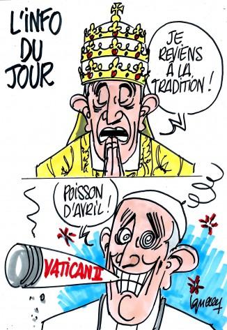 ignace_pape_francois_tradition_poisson_d_avril-mpi