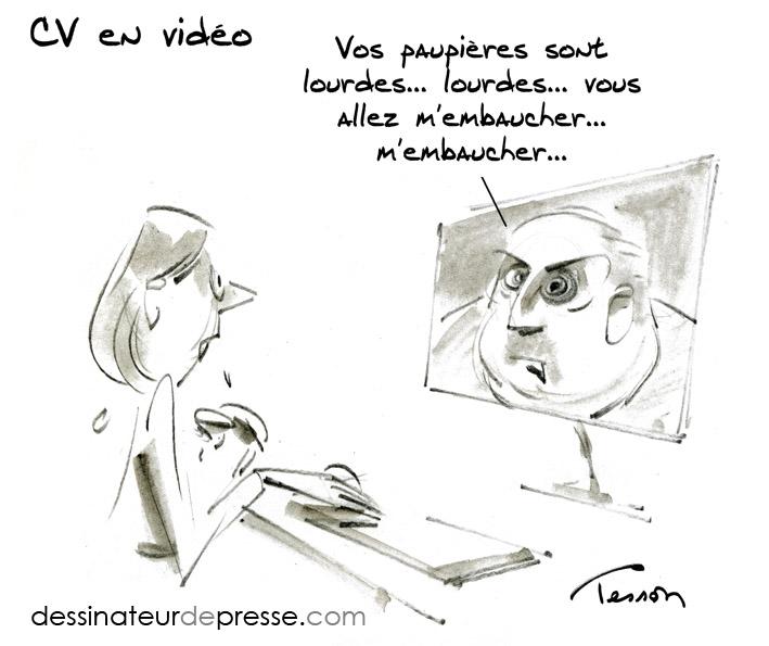 dessinateur cv