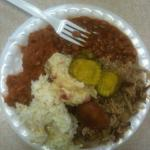 Dukes of Orangeburg, Whitman St. - BBQ Plate