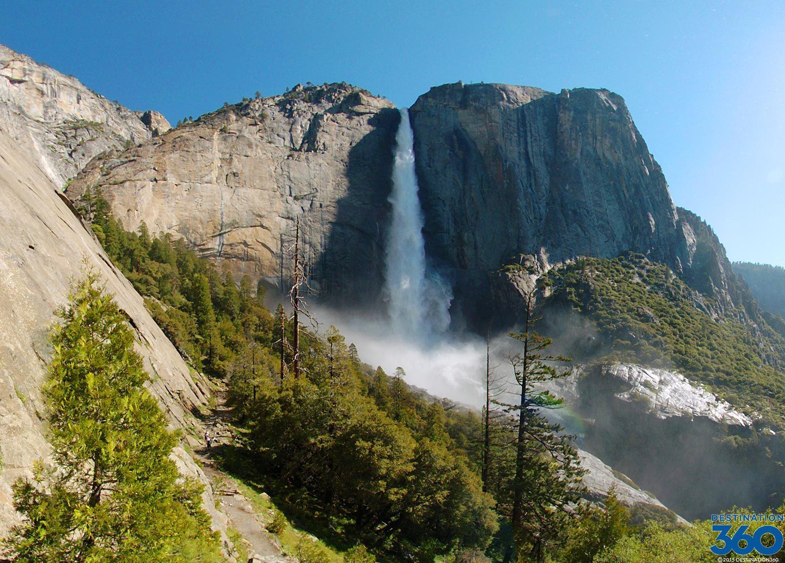 San Francisco Bridge Hd Wallpaper Yosemite Waterfalls