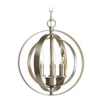 Progress Orb Pendant Light in Burnished Silver Finish ...