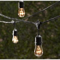 Outdoor Decorative Patio String Lights - 48 FT Long ...