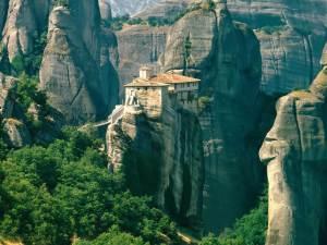 Grécia - Mosteiro de Roussanou