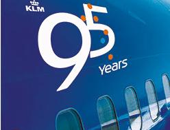Passagens promocionais na KLM