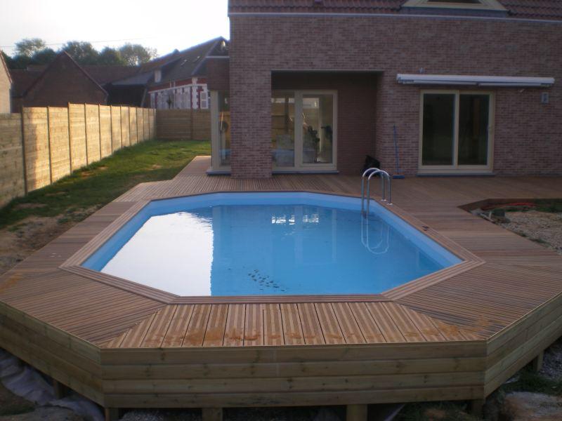 piscina legno rettangolare - Cerca con Google Architettura