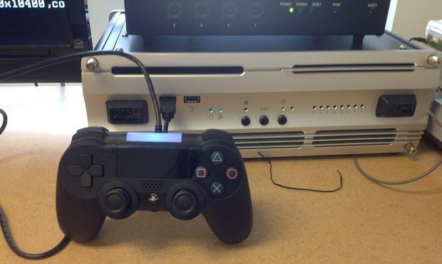 Imagem do possível controle do PS4
