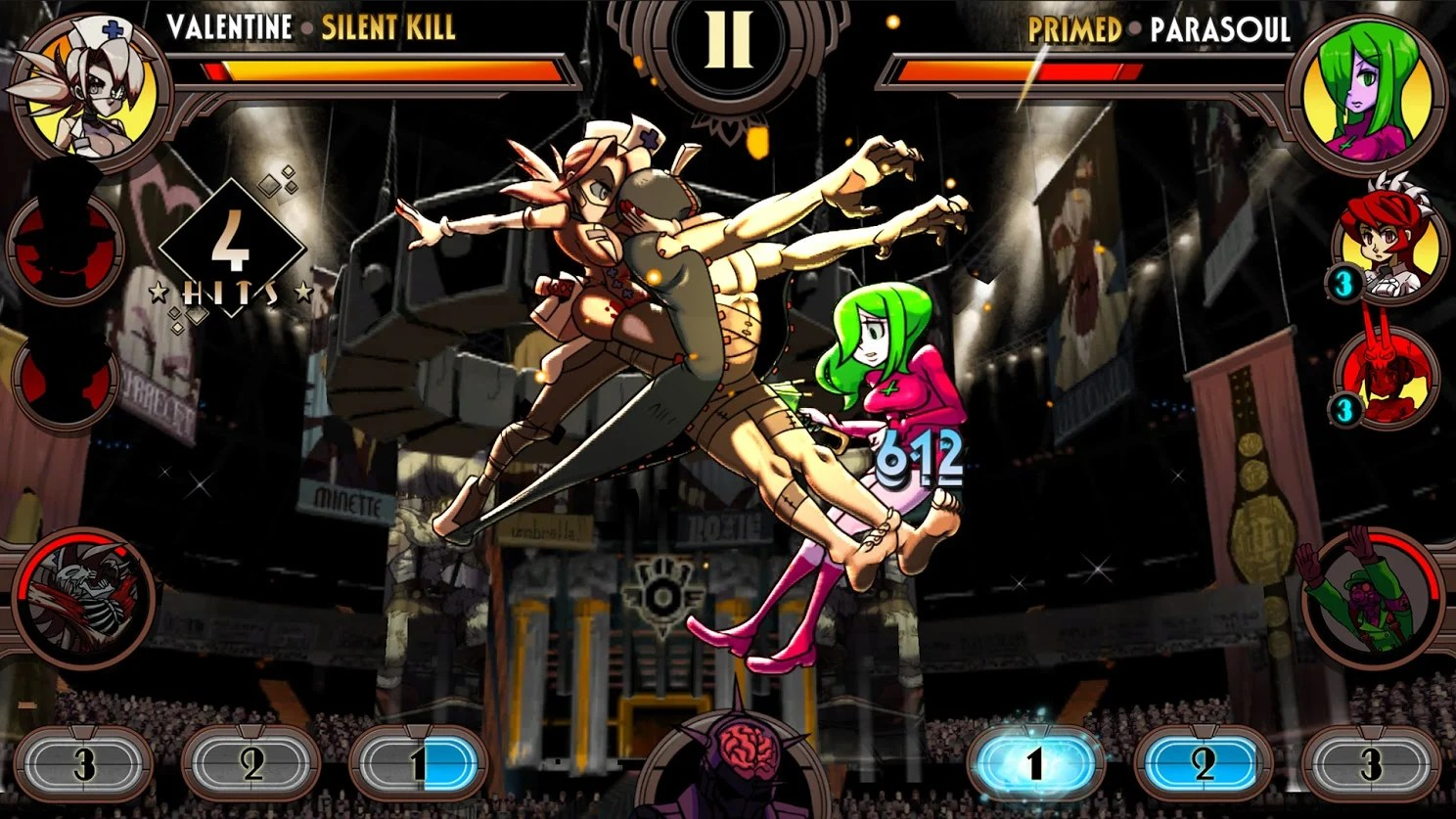 Skull Wallpaper For Girls Skullgirls Brings An Rpg Twist To Ios And Android
