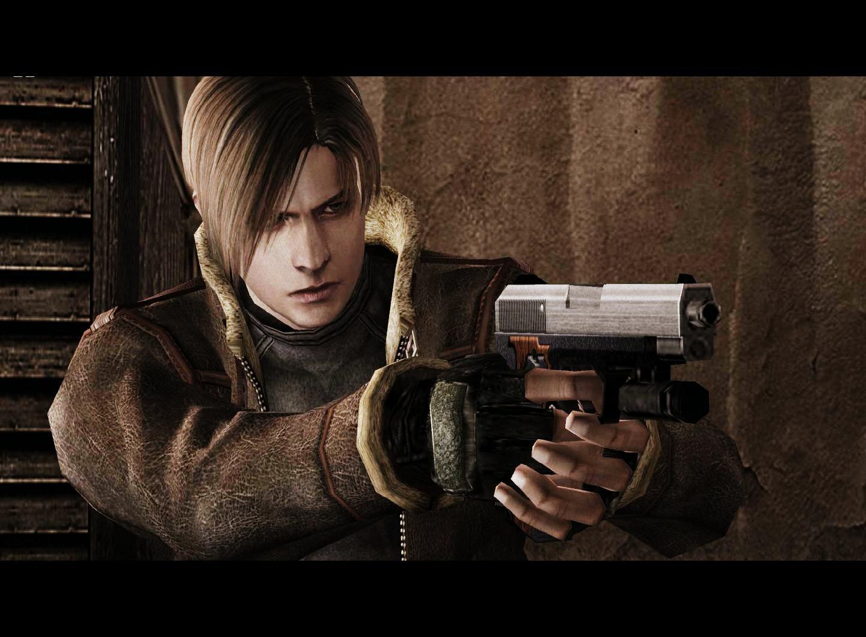 Leon S Kennedy Hd Wallpaper Digital Foundry Tackles Resident Evil 4 Super Mega Ultra