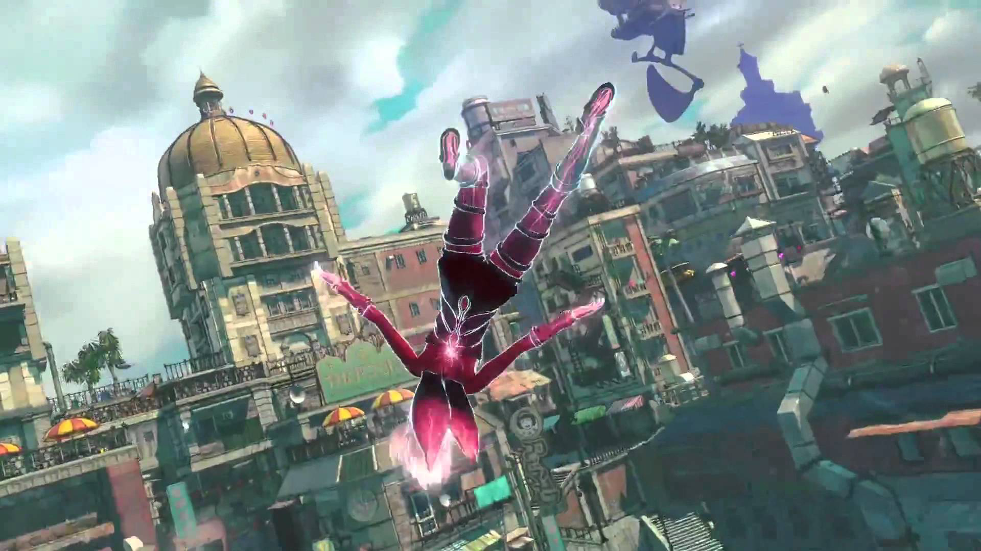 3d Action Game Wallpaper Gravity Rush 2 Flies Into 2017