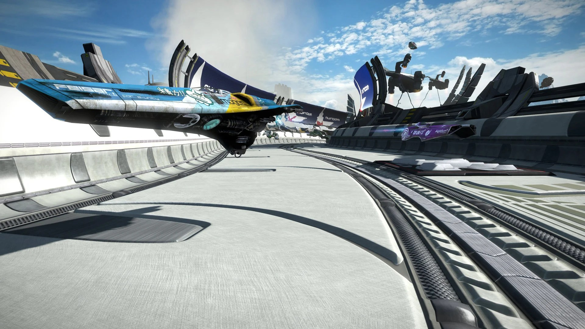 Wipeout Hd Wallpaper Review Wipeout Omega Collection
