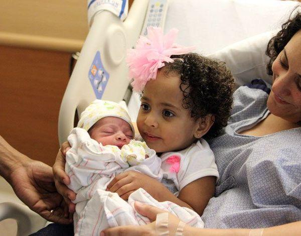 biracial baby, positive parenting, multiracial family