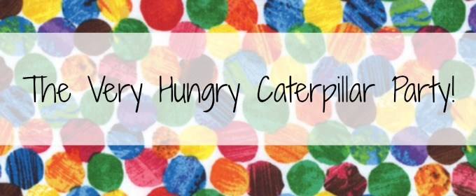 Very Hungry Caterpillar Party Invitations {Free Printable!}