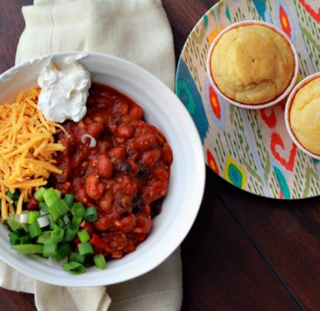 The Trick to Awesome Chili: 3 Bean Turkey Chili Recipe
