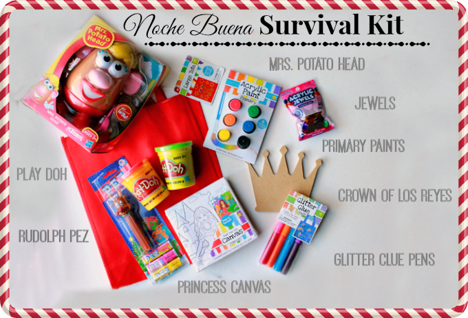 noche buena, christmas eve, stocking stuffers, walmart mom, Christmas activity kit, crafts for christmas eve