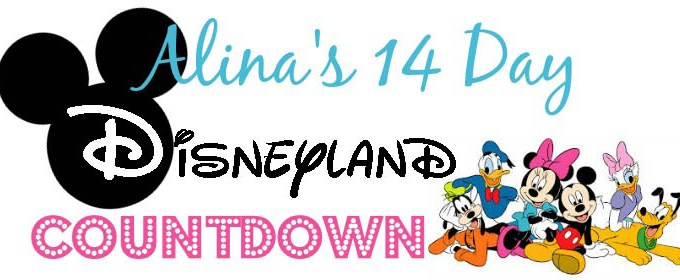 First Trip to Disneyland: The 14 Day Countdown