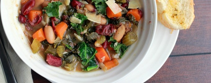 kale, kale soup, slow cooker soups, healthy crock pot recipes, healthy recipes