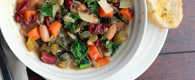 Italian Sausage, Kidney Bean & Kale Soup Recipe