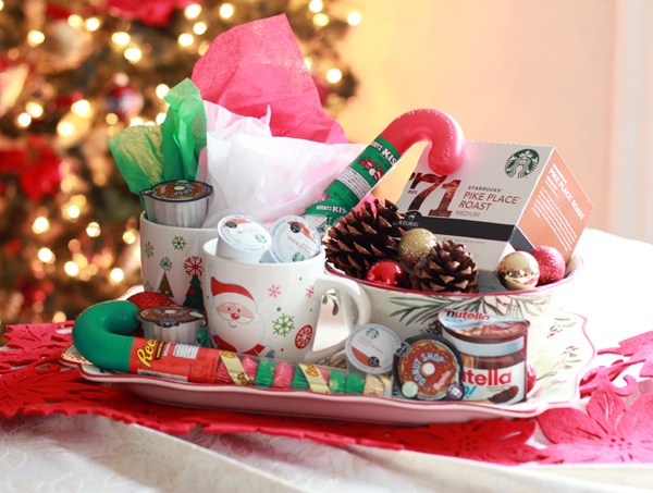 Coffee Gift Baskets Ideas for Keurig