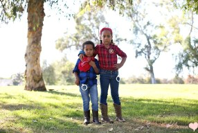 Simple Siblings Costumes: DIY Halloween Western Wear
