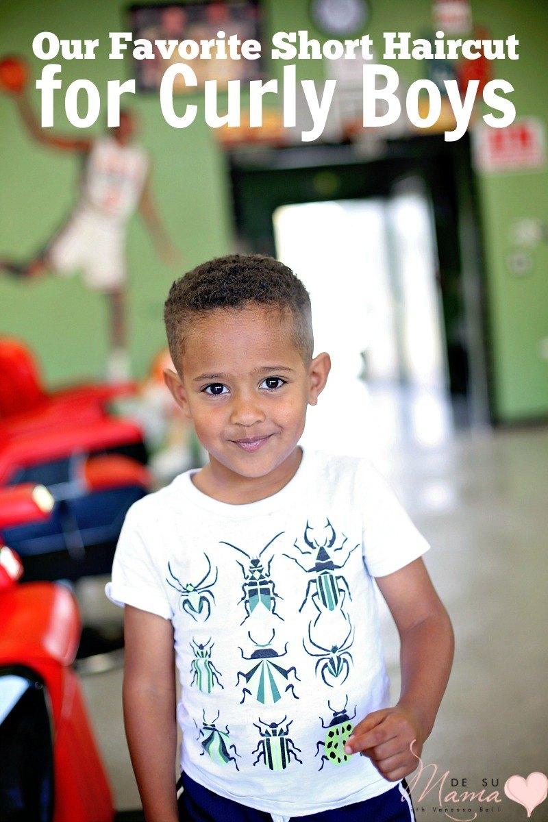 My Curly Boy S First Buzz Haircut De Su Mama