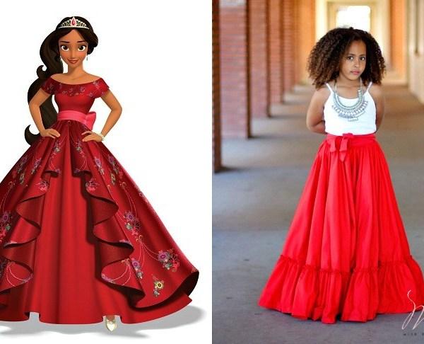Latina Disney Princess Elena of Avalor Dress