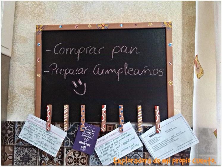 Consejos para decorar tu cocina con estilo - Pizarra para cocina ...