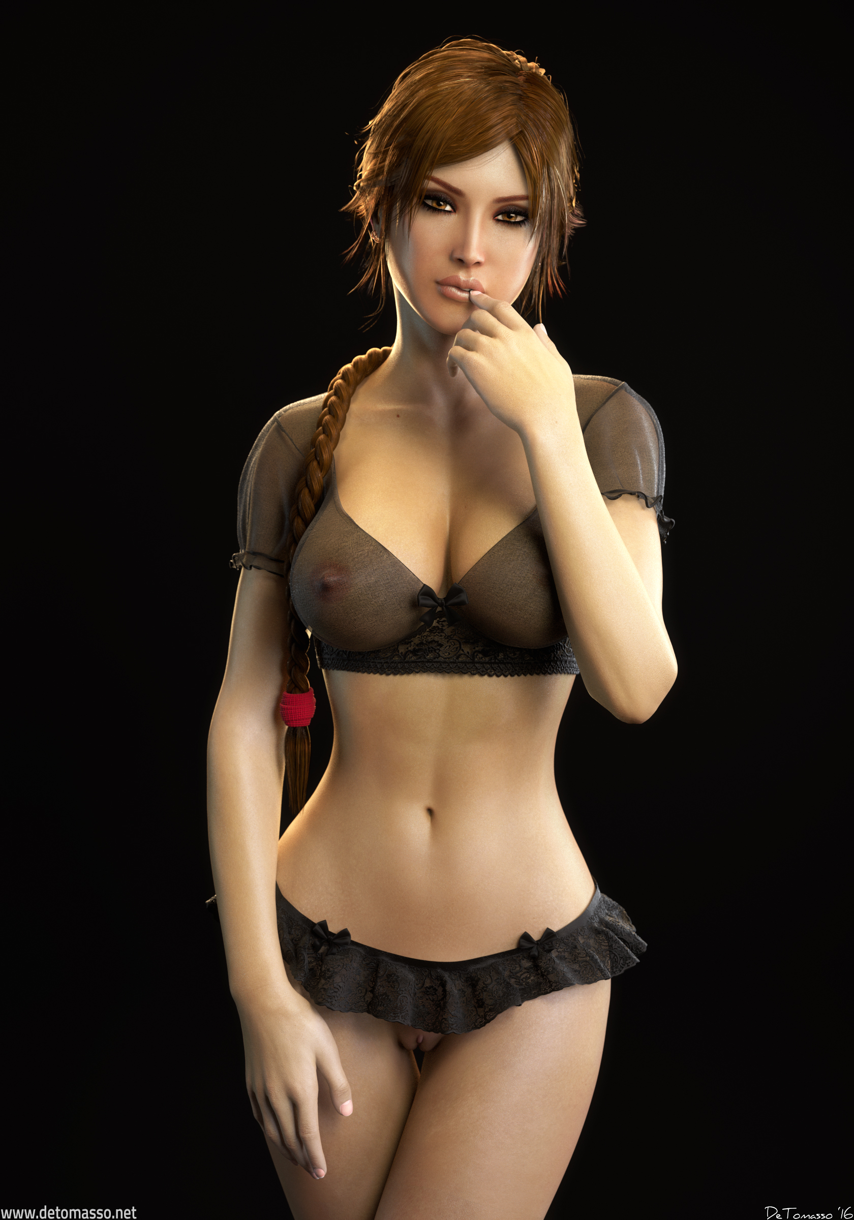 Cute Face Girl Wallpaper Mix 61 Lara Croft By Detomasso