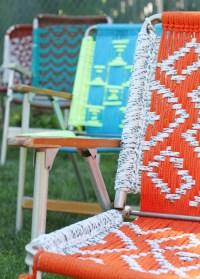 Tutorial : Macrame Lawn Chair - Deuce Cities Henhouse