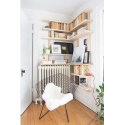 Small Crop Of Corner Bookshelf Modern