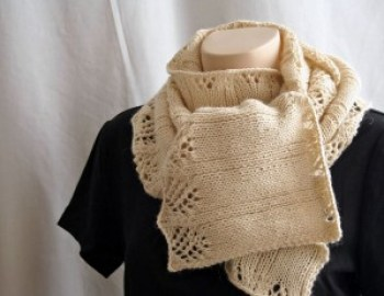 Knitting Pattern Scarf Early Fall Scarf