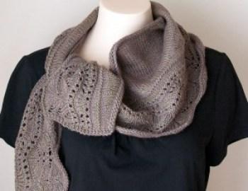 Knitting Pattern Shawl Farniente II