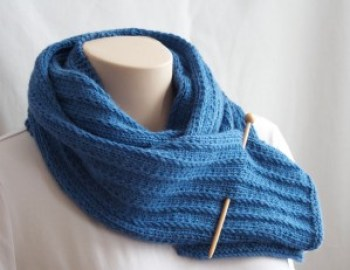 Knitting Pattern Scarf His Hers Scarf