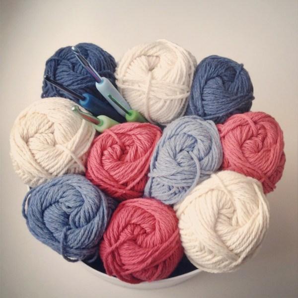 Yarn for crochet washcloths