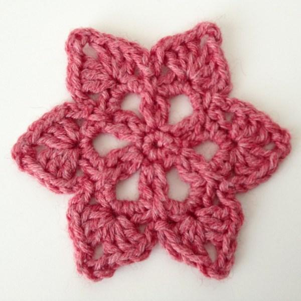 Star Crochet Motif